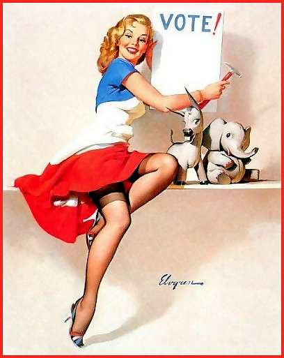 Pinup the vote