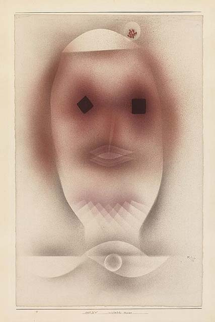 Paul Klee - Wintery Mask