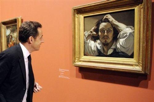 Sarkozy et courbet