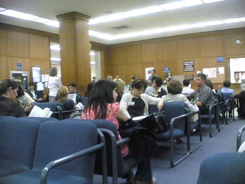 Jury Duty Waiting Lounge by sgarcia