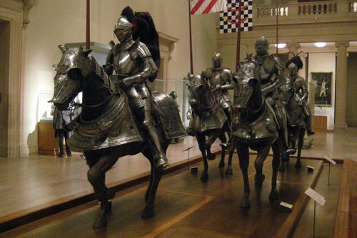 NYC - Metropolitan Museum of Art Armors for Man and Horse by wallyg