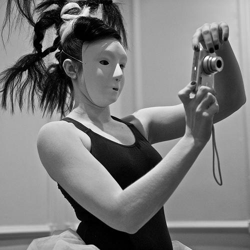 Dancing Camera Girl by geishaboy500