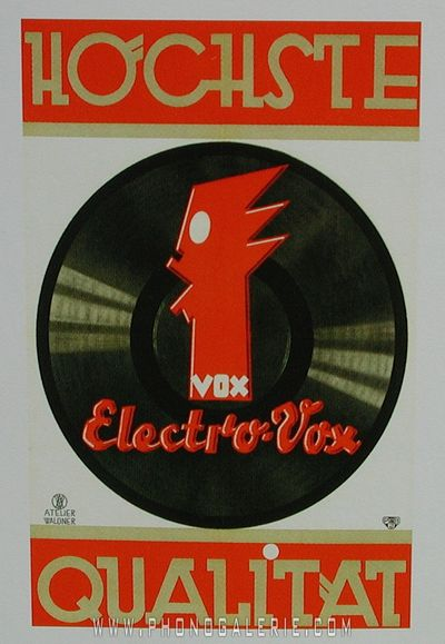 Electrovox by phonogalerie.com