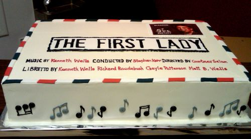 First Lady Cake