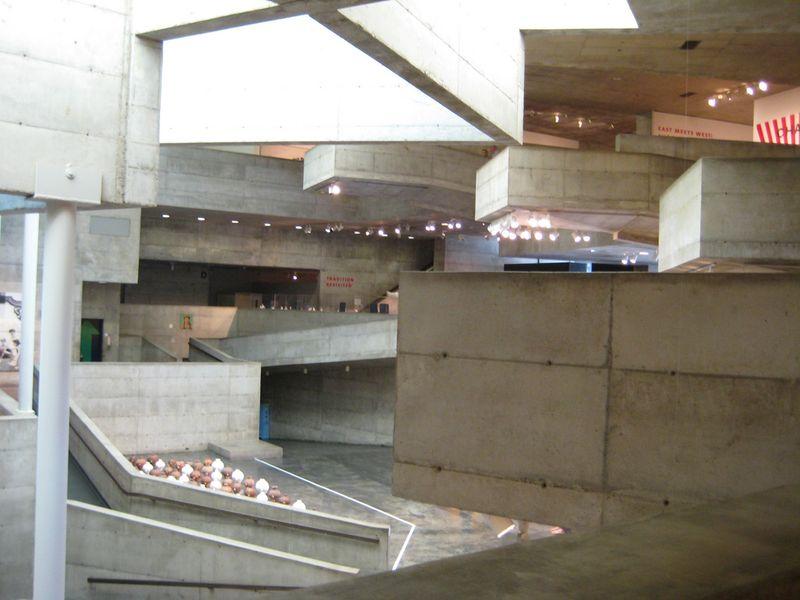 Berkeley Art Museum - by Gay Swan