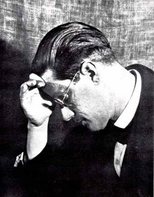 Man Ray James Joyce 1922