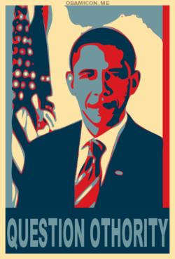 Obama Question Othority
