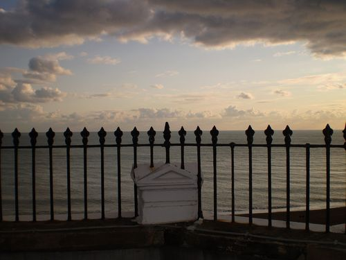 Beyond the railing by Elsie esq