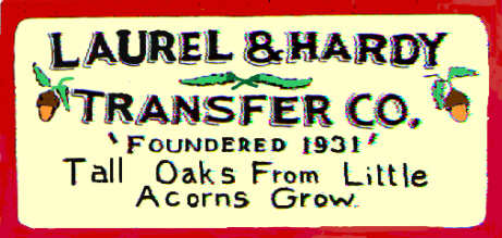 Laurel and hardy transfer company