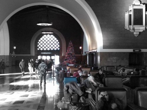 Christmas Time is Here, LA Union Station