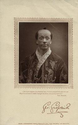 George Grossmith as Ko-Ko