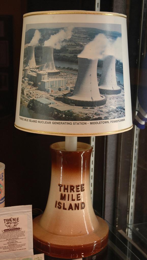 Three Mile Island lamp by Marshall Astor