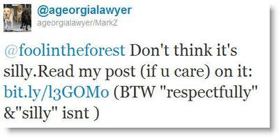 Georgia lawyer tweet 2
