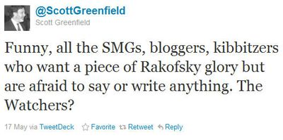 Greenfield tweet
