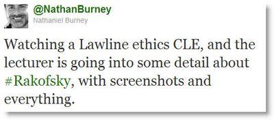 Burney tweet