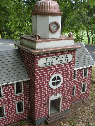 Tiny world courthouse