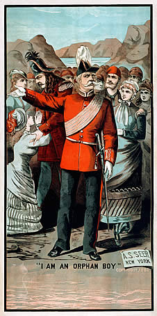 The Major General - theatre poster 1880