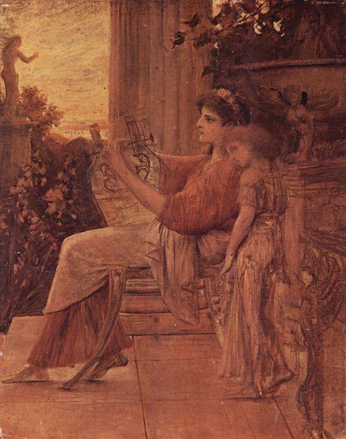 Gustav Klimt - Sappho 1888-90