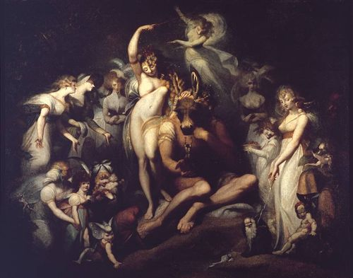Titania and Bottom