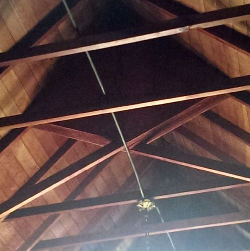 Saint Michaels ceiling beams