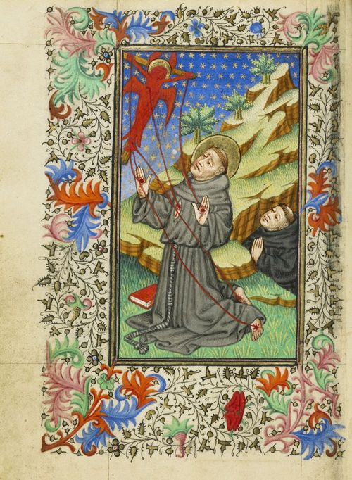 Master of Sir John Fastolf - Saint Francis