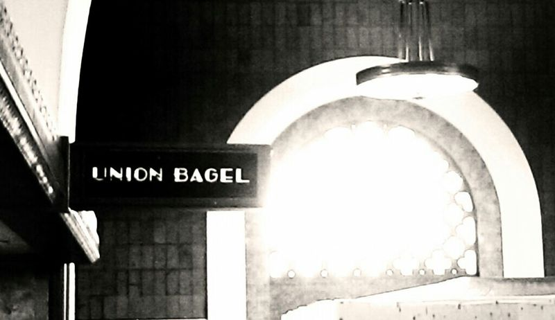 Look for the union bagel