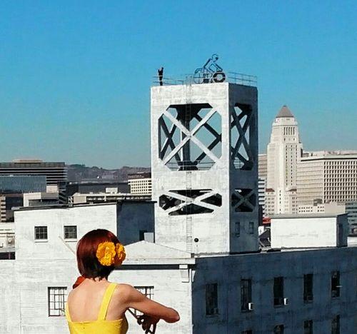 Hopscotch - rooftop fanfarewell