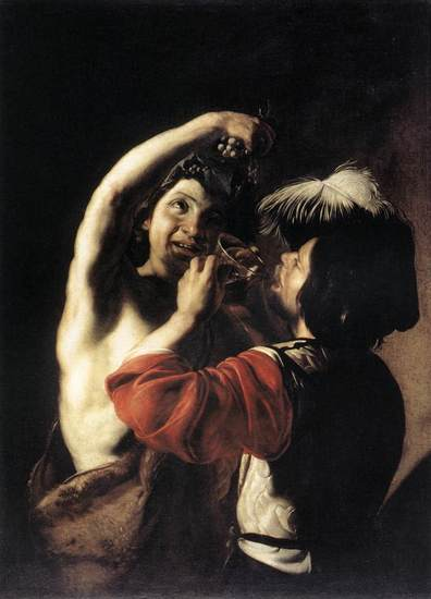 Bacchus_and_a_drinker_manfredi