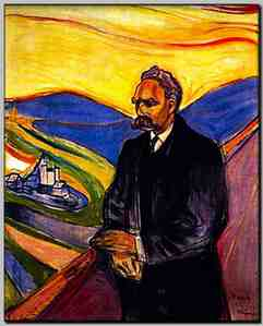 Nietzsche by Munch - excuse the pun