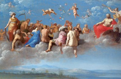 Cornelis van Poelenbergh - Feast of the Gods - 1623