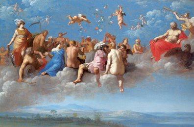 Cornelis van Poelenbergh - Feast of the Gods - 1623