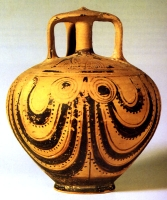 Fig. 1 -- A lovely Mycenaean stirrup jar