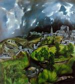 El Greco, View of Toledo - Click to Enlarge!